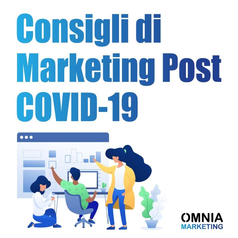 Consigli di Marketing Post Quarantena